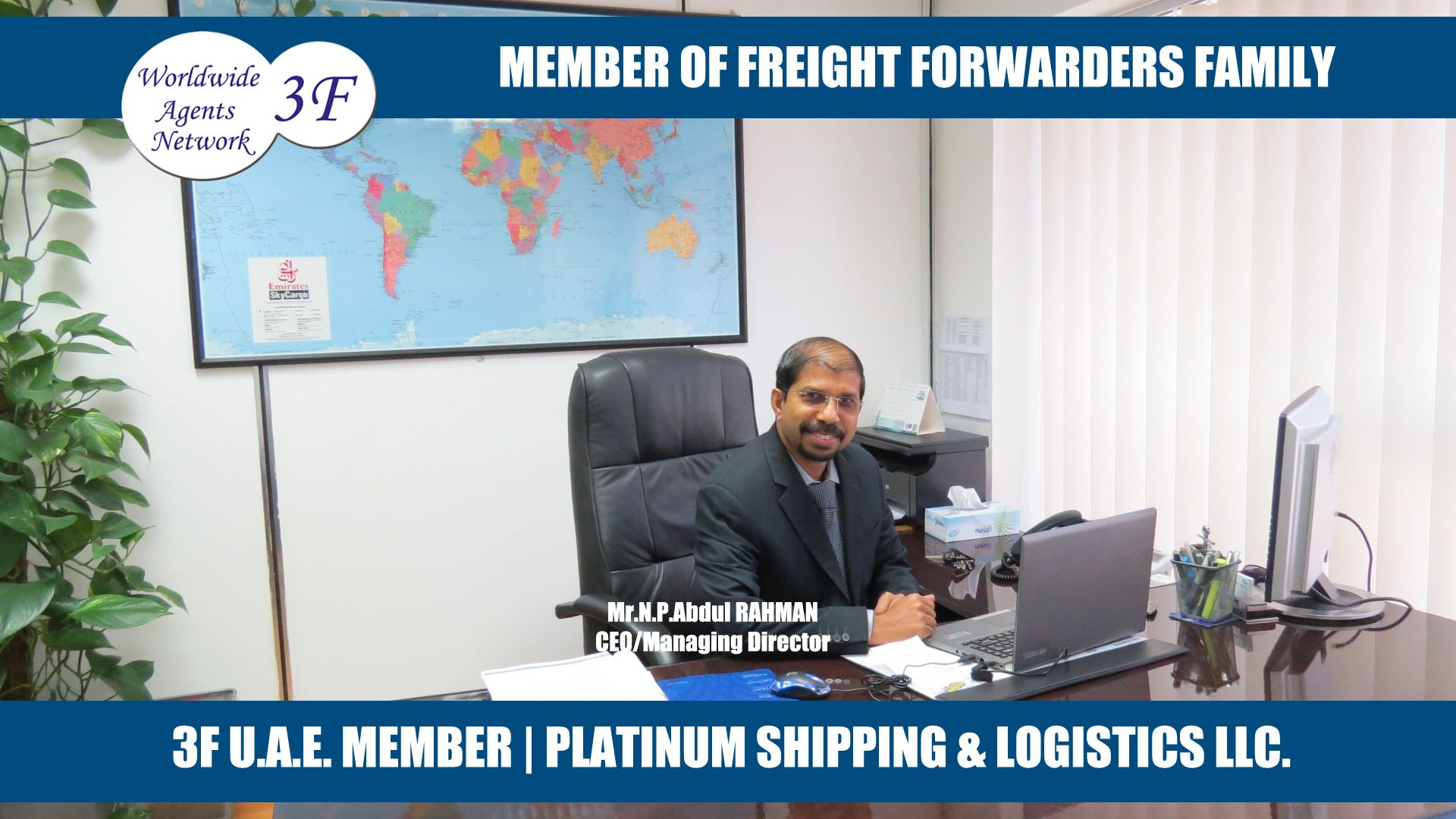 Freight Forwarders Family Worldwide Agents Network - 3F Chairman